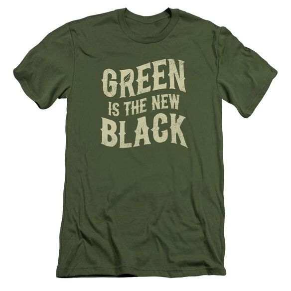 The New Black Short Sleeve Adult Military T-Shirt