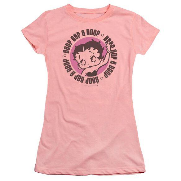 Betty Boop Oop A Doop Premium Bella Junior Sheer Jersey