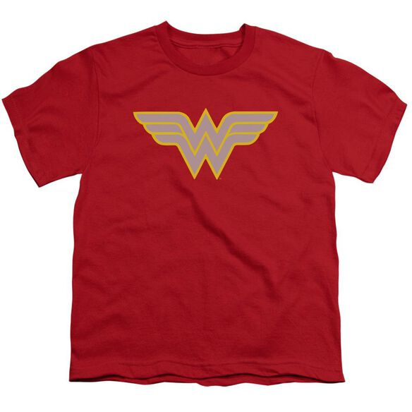 Dc Ww Logo Short Sleeve Youth T-Shirt