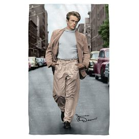 James Dean Colorful Walk Face Hand Towel