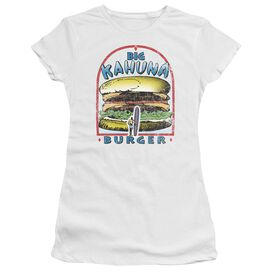 Pulp Fiction Big Kahuna Burger Short Sleeve Junior Sheer T-Shirt
