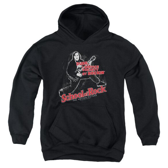 School Of Rock Rockin Youth Pull Over Hoodie