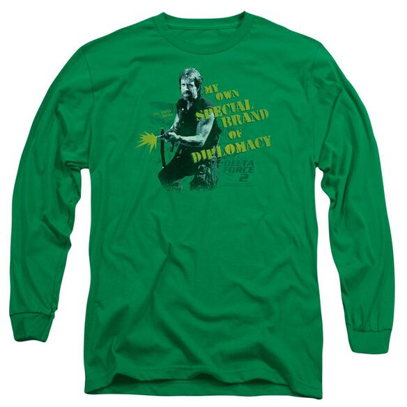 Delta Force 2 Special Diplomacy Long Sleeve Adult Kelly T-Shirt