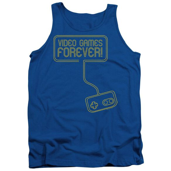 Video Games Forever Adult Tank Royal
