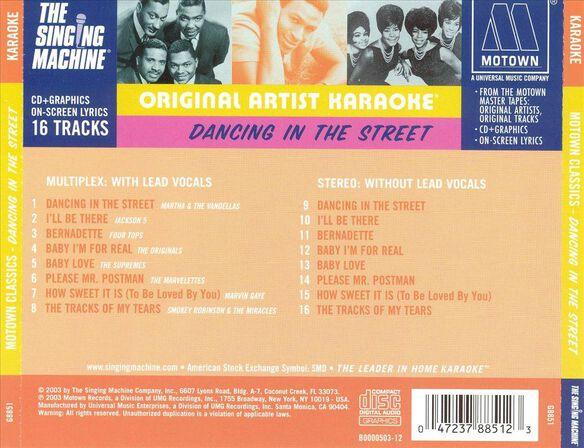 Motown Dancing In Th