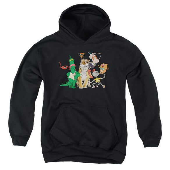 Uncle Grandpa Group Youth Pull Over Hoodie