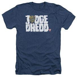 Judge Dredd Logo Adult Heather