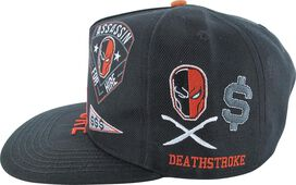 Deathstroke Patch Work Snapback Hat