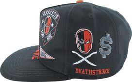 Deathstroke Patch Work Snapback Hat