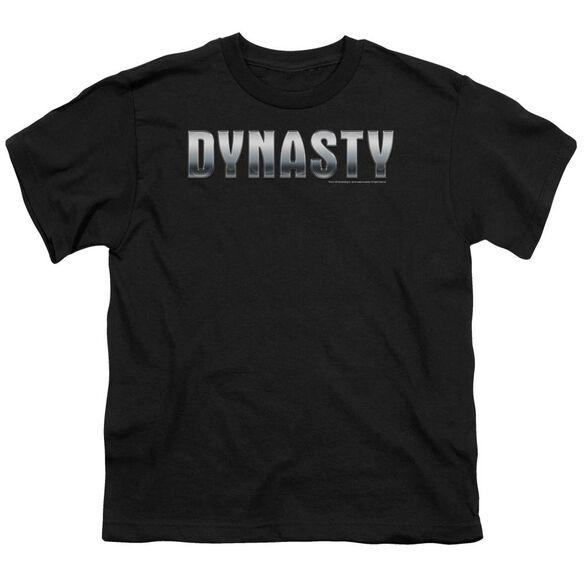 DYNASTY DYNASTY SHINY - S/S YOUTH 18/1 - BLACK T-Shirt