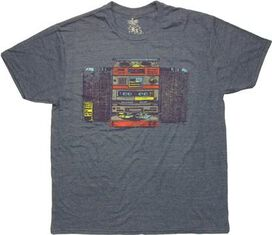 1980 Stereo System T-Shirt Sheer