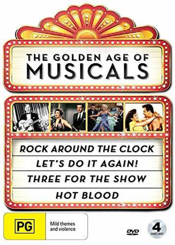 The Golden Age of Musicals Collection