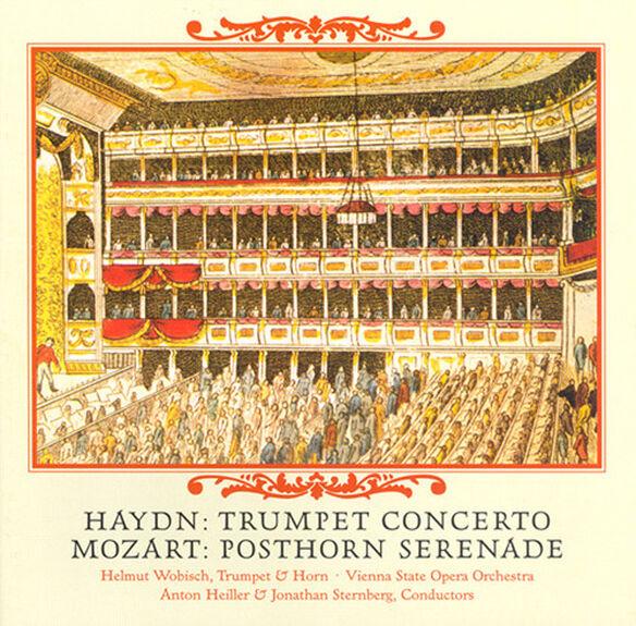 Haydn/ Mozart/ Heiller/ Sternberg - Con Tpt/Ser Poosthorn