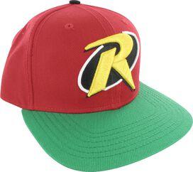 Robin Logo Contrast Visor Snap Hat
