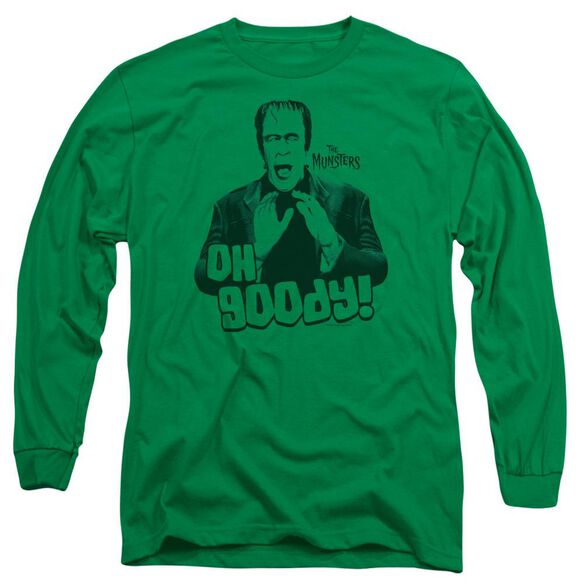 The Munsters Oh Goody Long Sleeve Adult Kelly T-Shirt