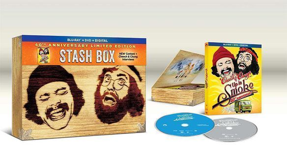Cheech & Chong [Exclusive Wooden Stash Box with Up in Smoke Blu-ray]