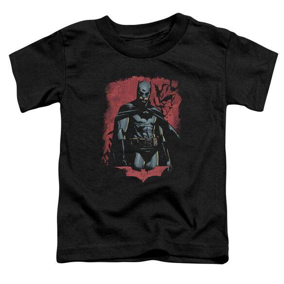 Batman Begins Dead Town Short Sleeve Toddler Tee Black T-Shirt
