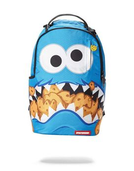 Sprayground Cookie Monster Shark Backpack