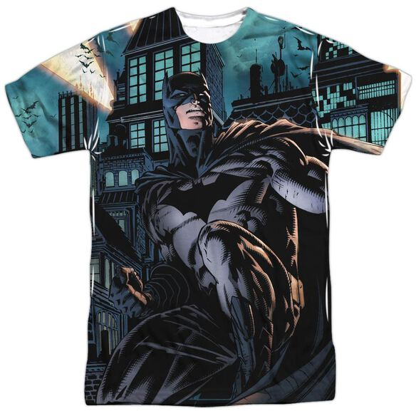Batman Coming For You Short Sleeve Adult Poly Crew T-Shirt