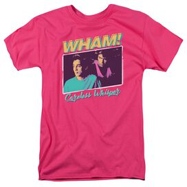 Wham Careless Whisper Short Sleeve Adult Hot T-Shirt
