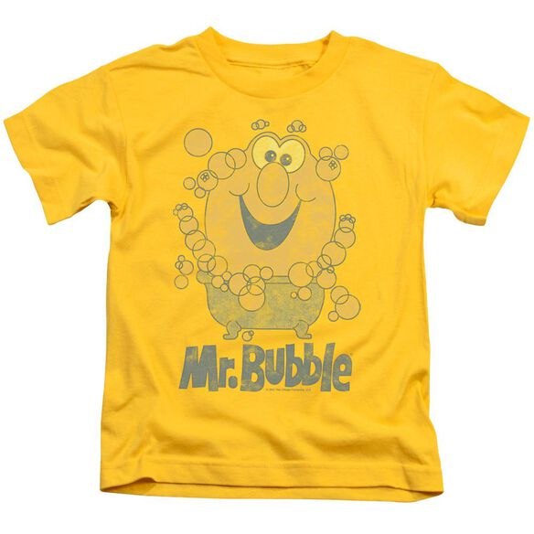 Mr Bubble Classy Classic Short Sleeve Juvenile T-Shirt