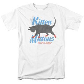 Its Always Sunny In Philadelphia Kitten Mittons Short Sleeve Adult T-Shirt