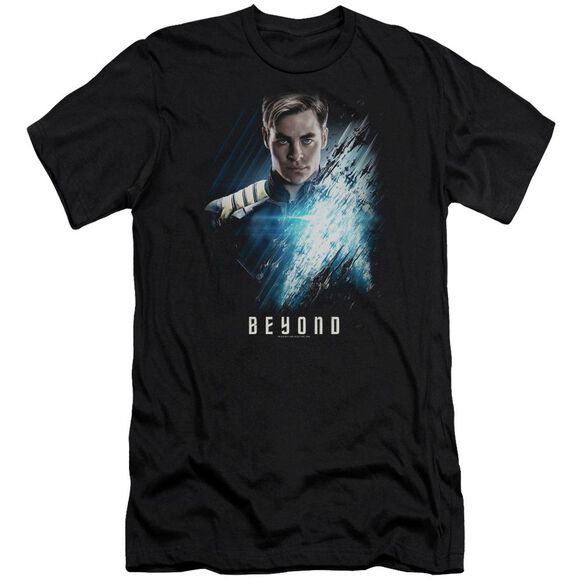 Star Trek Beyond Kirk Poster Premuim Canvas Adult Slim Fit