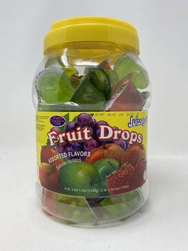 Juizee Juice Jelly Fruit Drops 54 oz. Jar TIK TOK Jellies