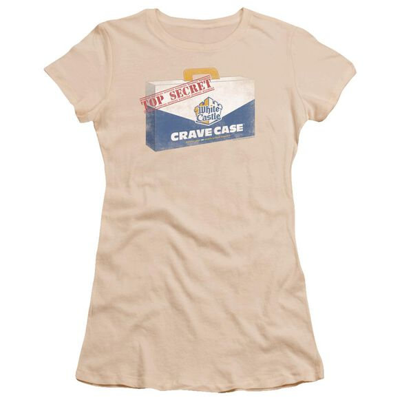 White Castle Crave Case Premium Bella Junior Sheer Jersey