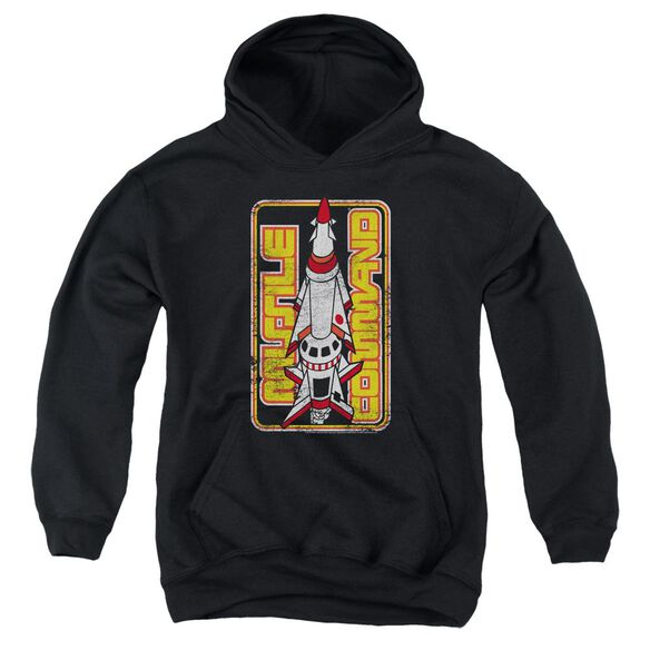 Atari Missile Youth Pull Over Hoodie