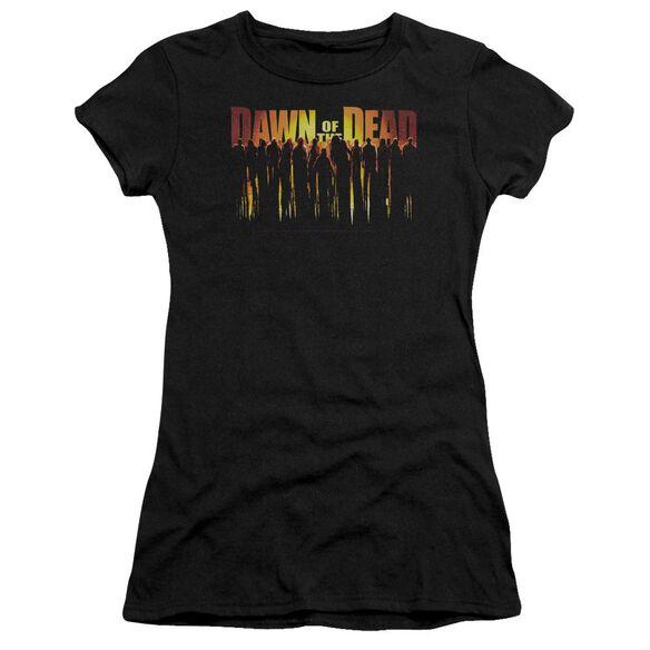 Dawn Of The Dead Walking Dead Premium Bella Junior Sheer Jersey