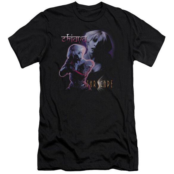 FARSCAPE CHIANA - S/S ADULT 30/1 - BLACK T-Shirt