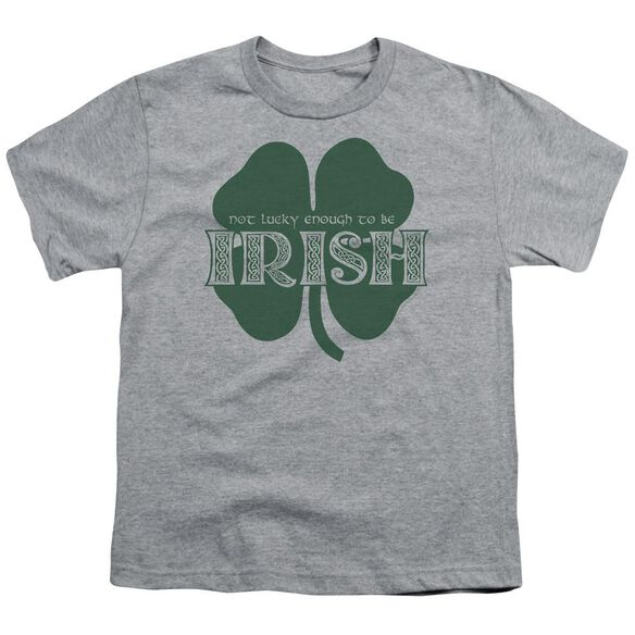Lucky To Be Irish Short Sleeve Youth Athletic T-Shirt