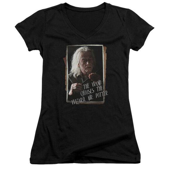 Harry Potter Olivander Junior V Neck T-Shirt