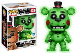 Pop Exclusive Five Nights at Freddy Glow-in-the-Dark Freddy