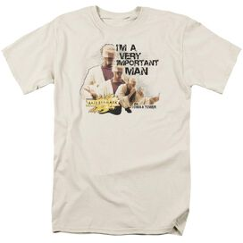 MIRRORMASK IMPORTANT MAN - S/S ADULT 18/1 - CREAM T-Shirt