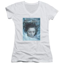 Twin Peaks Who Killed Laura Junior V Neck T-Shirt