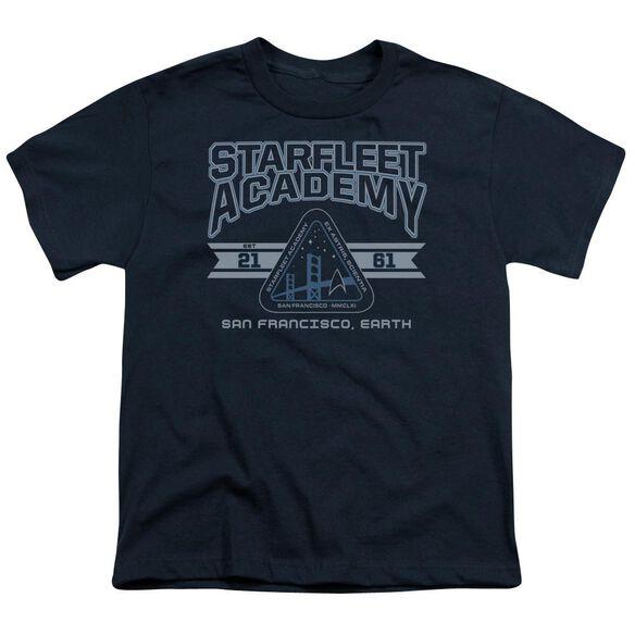 Star Trek Starfleet Academy Earth Short Sleeve Youth T-Shirt