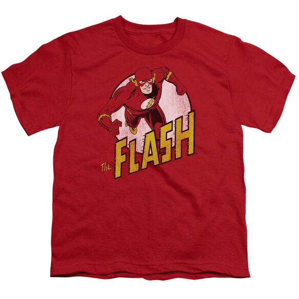 DC FLASH THE FLASH - S/S YOUTH 18/1 - RED T-Shirt