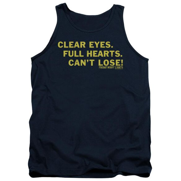 Friday Night Lights Clear Eyes Adult Tank