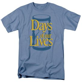 Days Of Our Lives Hourglass Short Sleeve Adult Carolina Blue T-Shirt