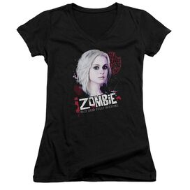 Izombie Take A Bite Junior V Neck T-Shirt