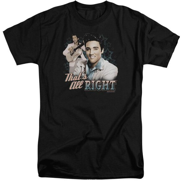 Elvis That's All Right Short Sleeve Adult Tall T-Shirt