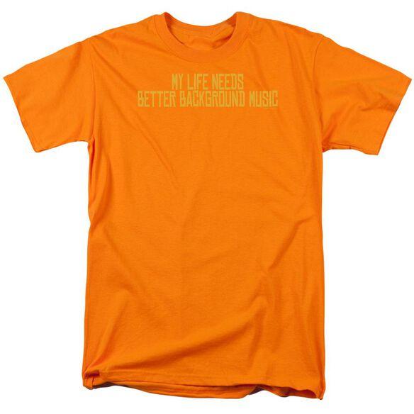 Better Background Music Short Sleeve Adult T-Shirt