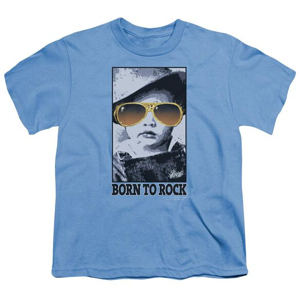 Elvis Born To Rock Short Sleeve Youth T-Shirt
