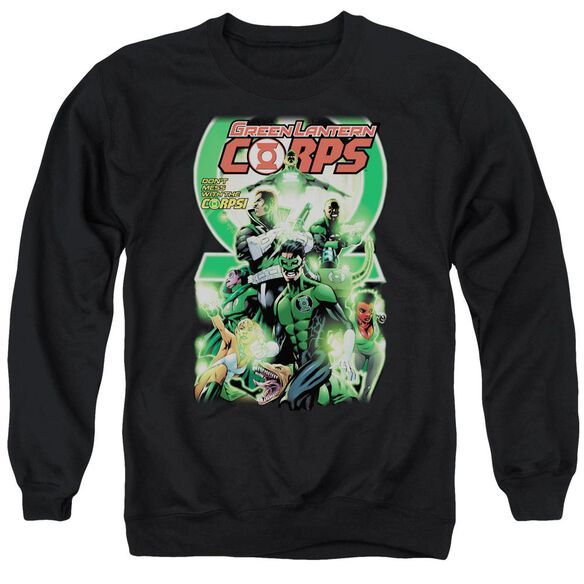 Green Lantern Gl Corps #25 Cover Adult Crewneck Sweatshirt