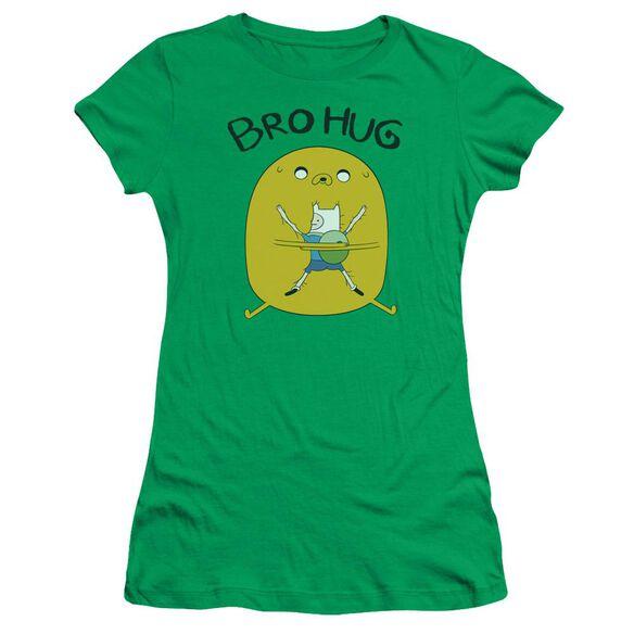 Adventure Time Bro Hug Short Sleeve Junior Sheer Kelly T-Shirt