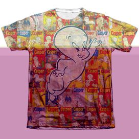 CASPER COVERED-ADULT POLY/COTTON T-Shirt