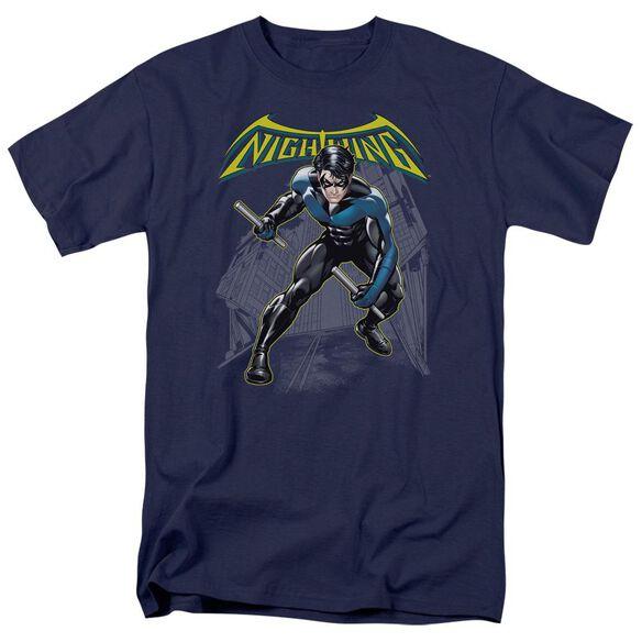 Batman Nightwing Short Sleeve Adult T-Shirt