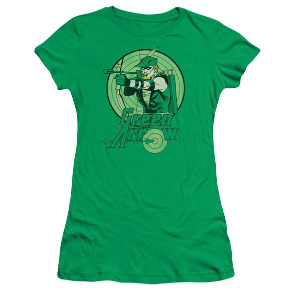 Dc Arrow Short Sleeve Junior Sheer Kelly T-Shirt